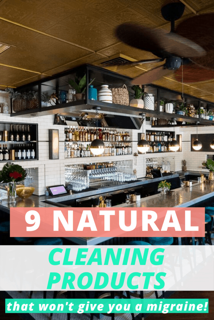 natural cleaning products osmophobia