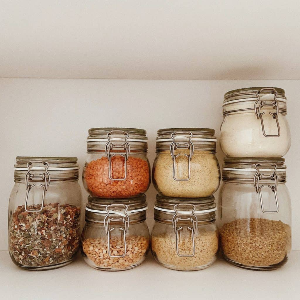 small kitchen organization no pantry